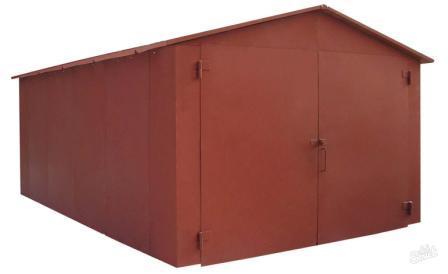 Постройка каркаса гаража из бруса